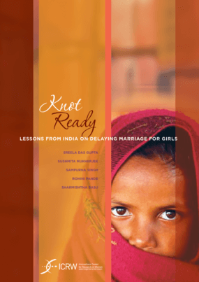 Knot Ready: Lessons From India on Delaying Marriage for Girls