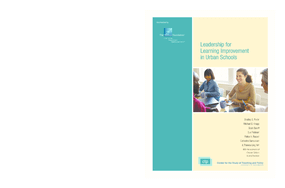 Leadership for Learning Improvement in Urban Schools
