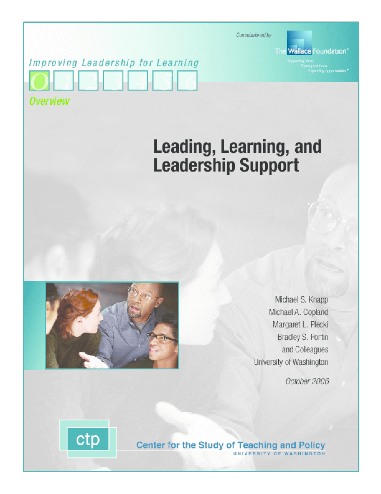 Leading, Learning, and Leadership Support
