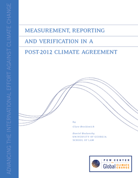 Measurement, Reporting and Verification in a Post-2012 Climate Agreement