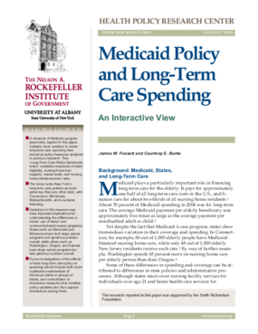 Medicaid Policy and Long-Term Care Spending: An Interactive View
