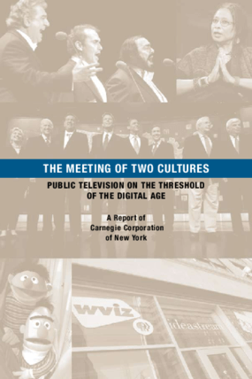 The Meeting of Two Cultures: Public Broadcasting on the Threshold of the Digital Age