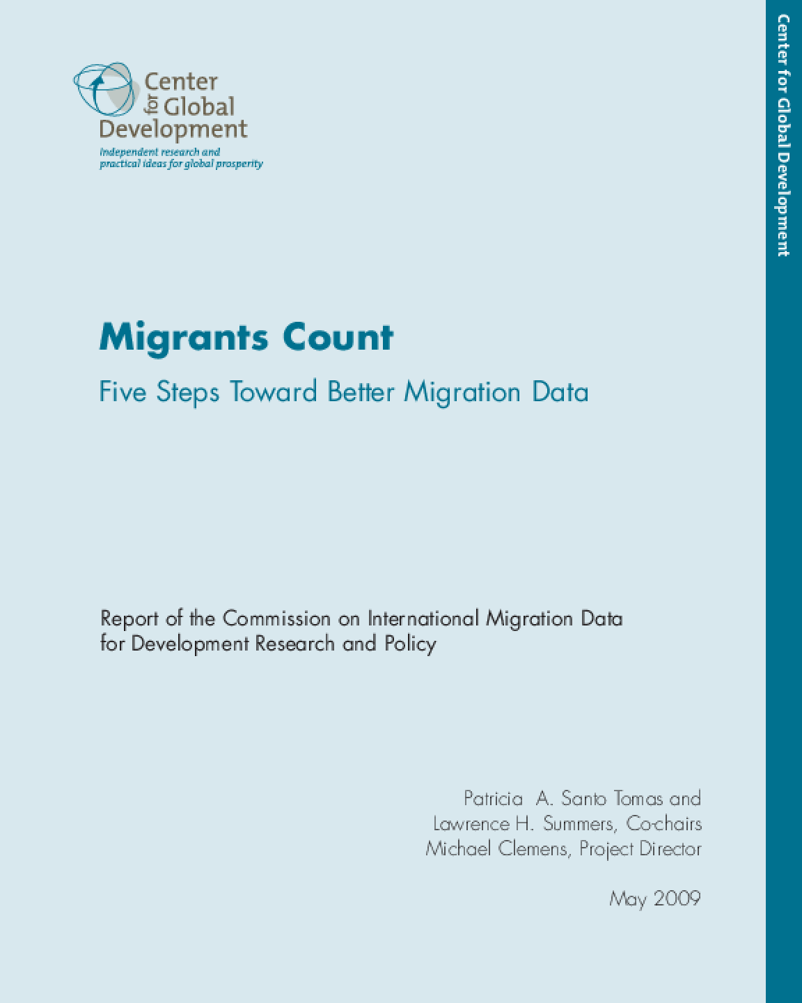 Migrants Count: Five Steps Toward Better Migration Data