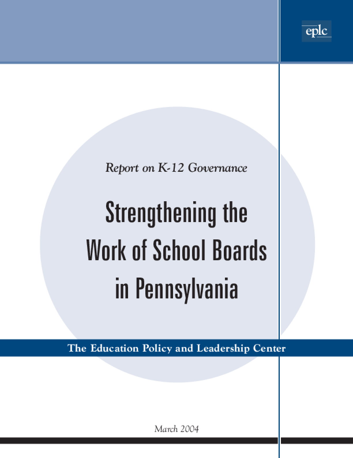 Strengthening the Work of School Boards in Pennsylvania