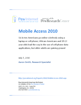 Mobile Access 2010