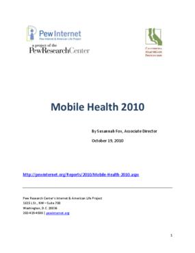 Mobile Health 2010