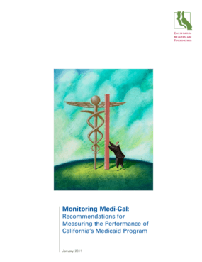 Monitoring Medi-Cal: Recommendations for Measuring the Performance of California's Medicaid Program