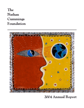Nathan Cummings Foundation - 2004 Annual Report
