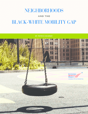 Neighborhoods and the Black-White Mobility Gap