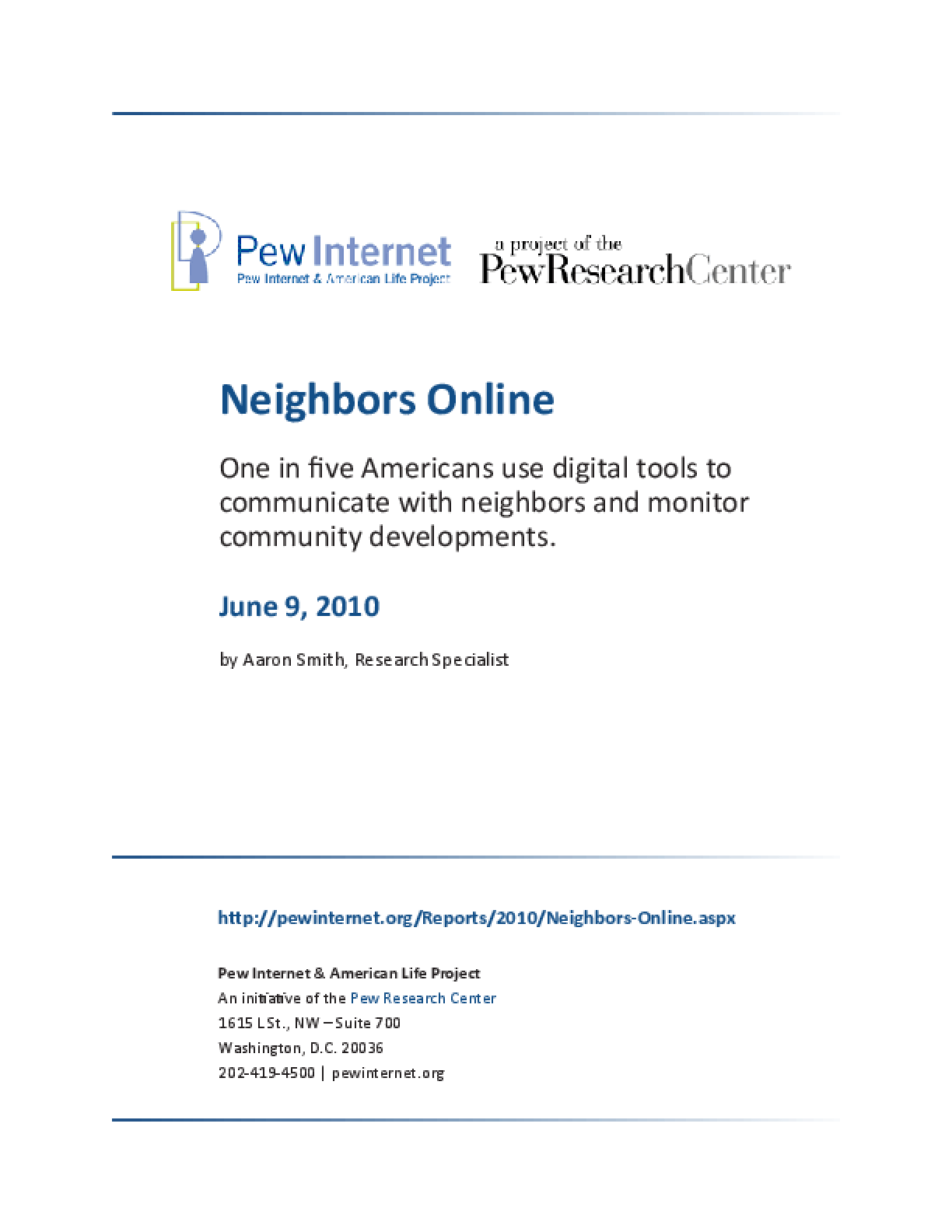 Neighbors Online