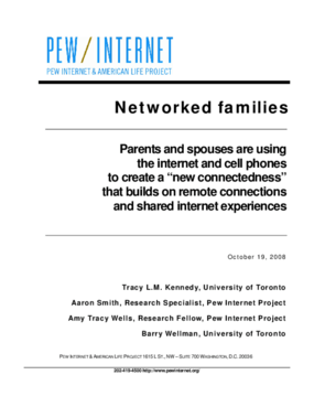 Networked Families