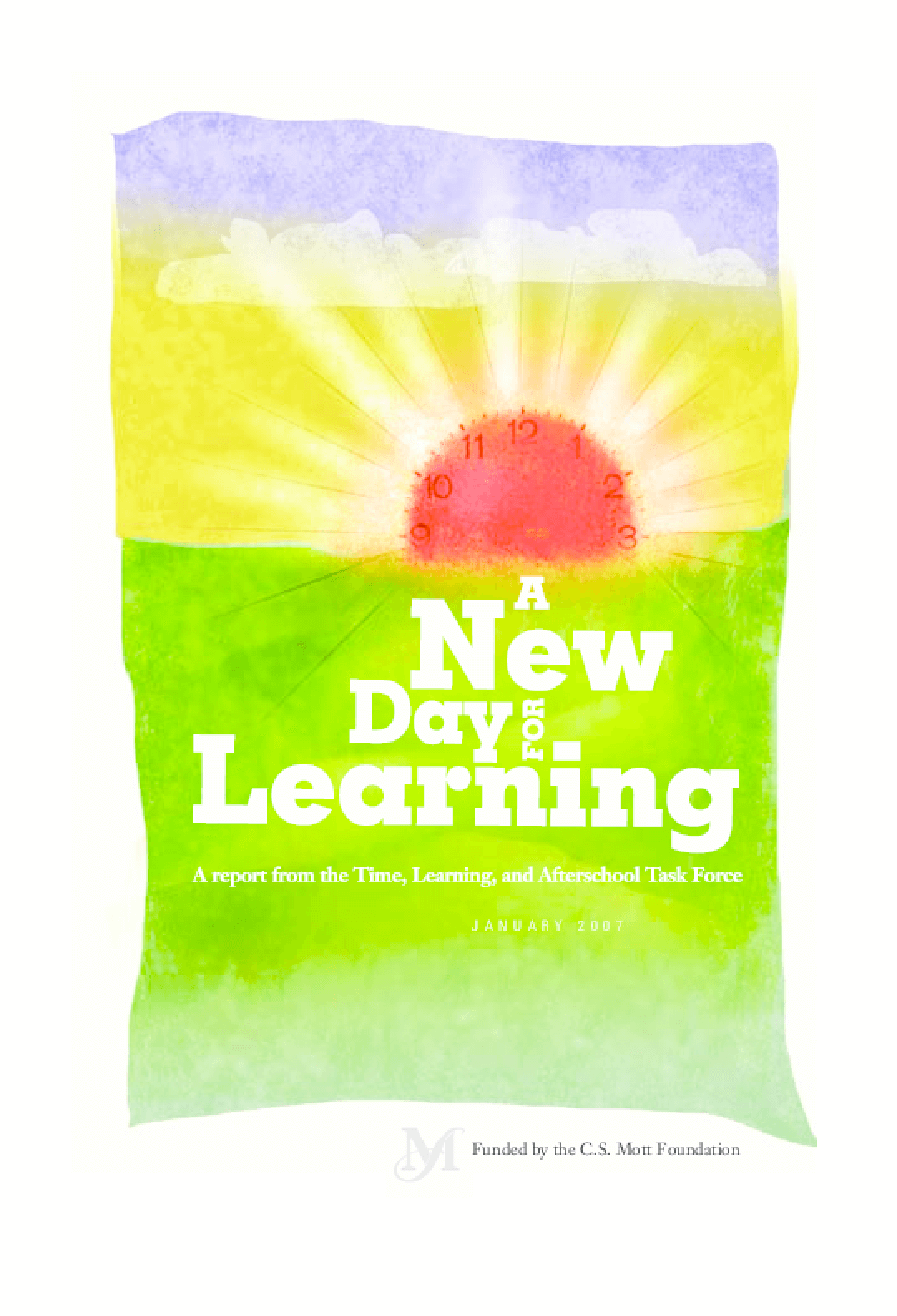 A New Day for Learning