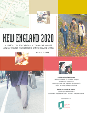 New England 2020: A Forecast of Educational Attainment and Its Implications for the Workforce of New England States