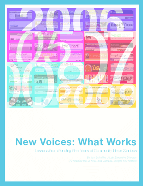 New Voices: What Works