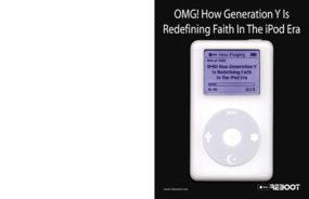 OMG!: How Generation Y is Redefining Faith in the iPod Era