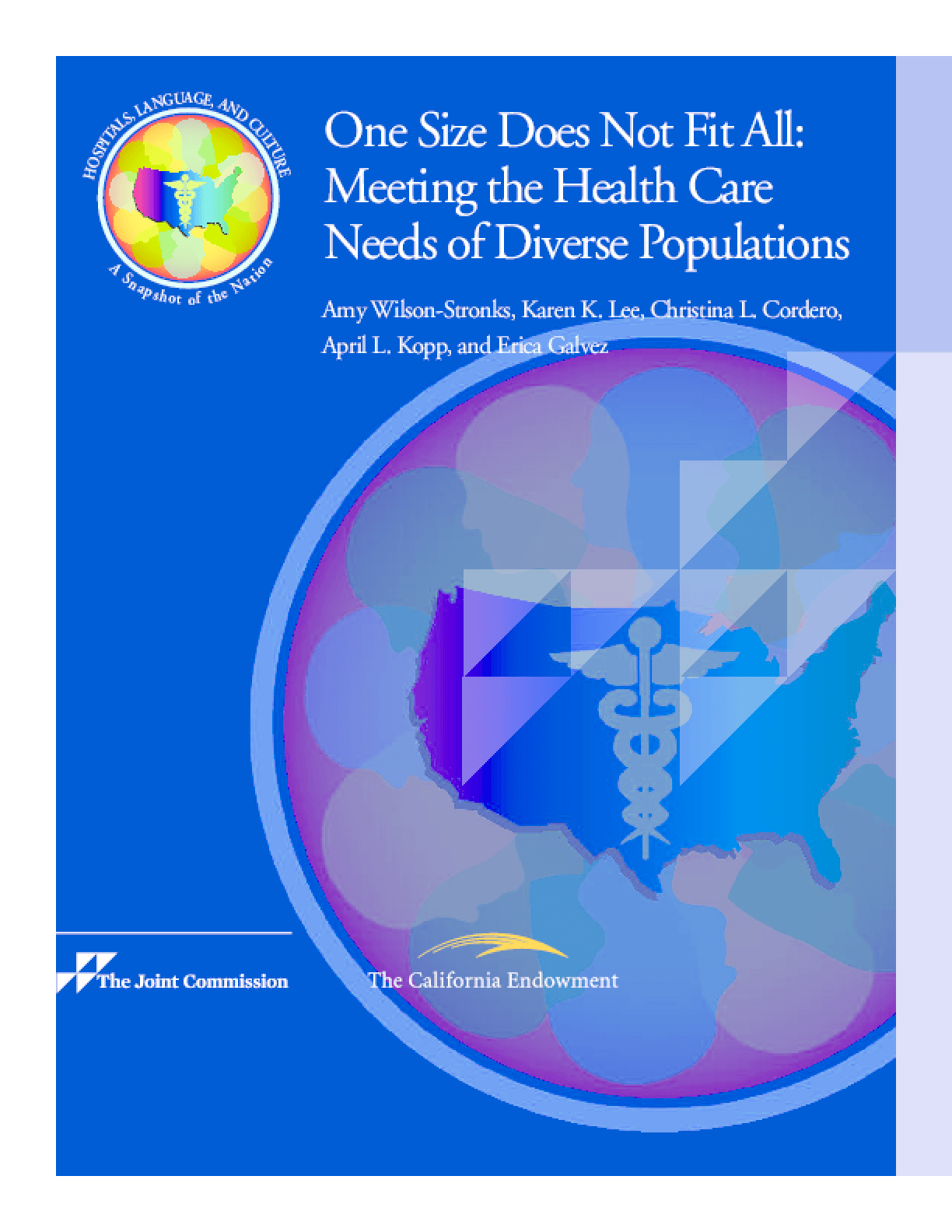 One Size Does Not Fit All: Meeting the Health Care Needs of Diverse Populations