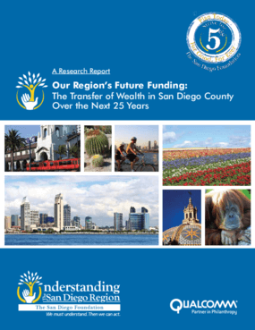 Our Region's Future Funding: The Transfer of Wealth in San Diego County Over the Next 25 Years