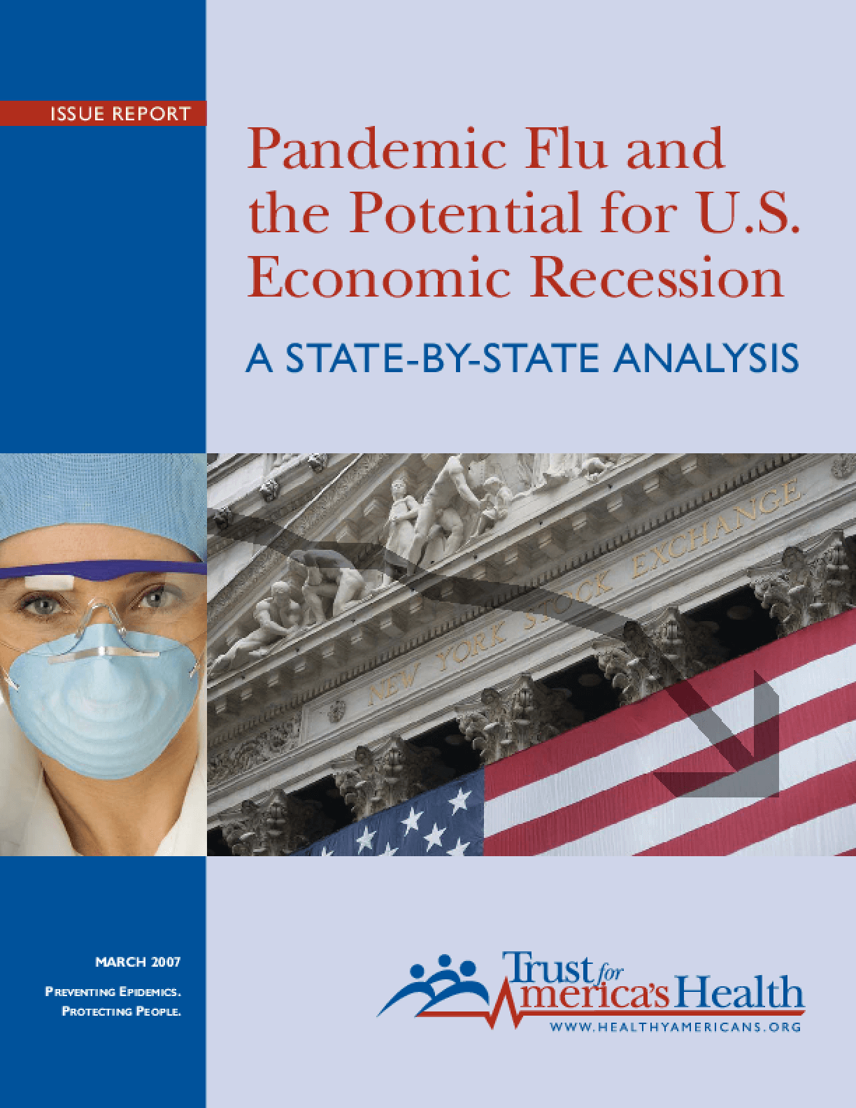 Pandemic Flu and the Potential for U.S. Economic Recession: A State-by-State Analysis