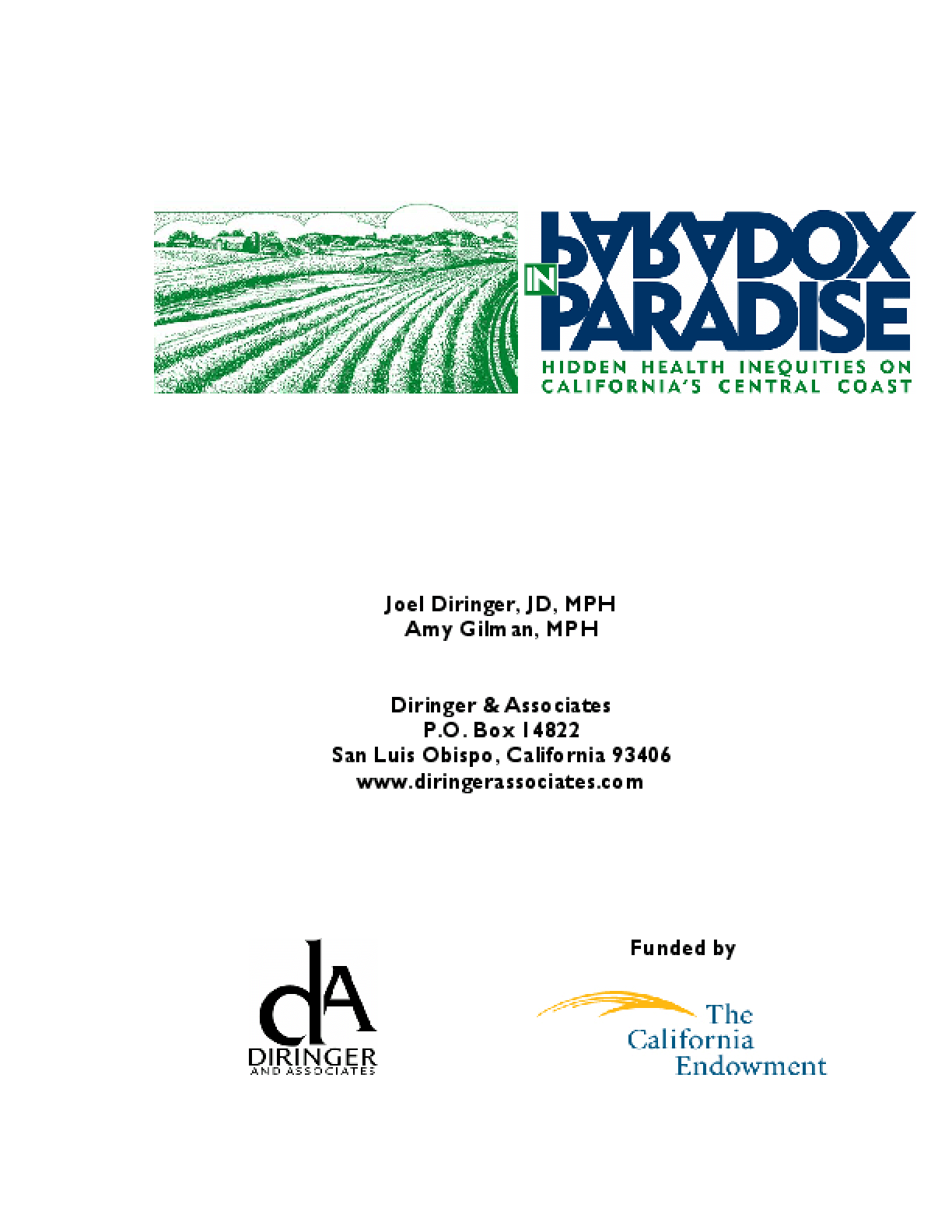 Paradox in Paradise: Hidden Health Inequities on California's Central Coast