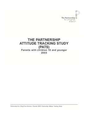 The Partnership Attitude Tracking Study
