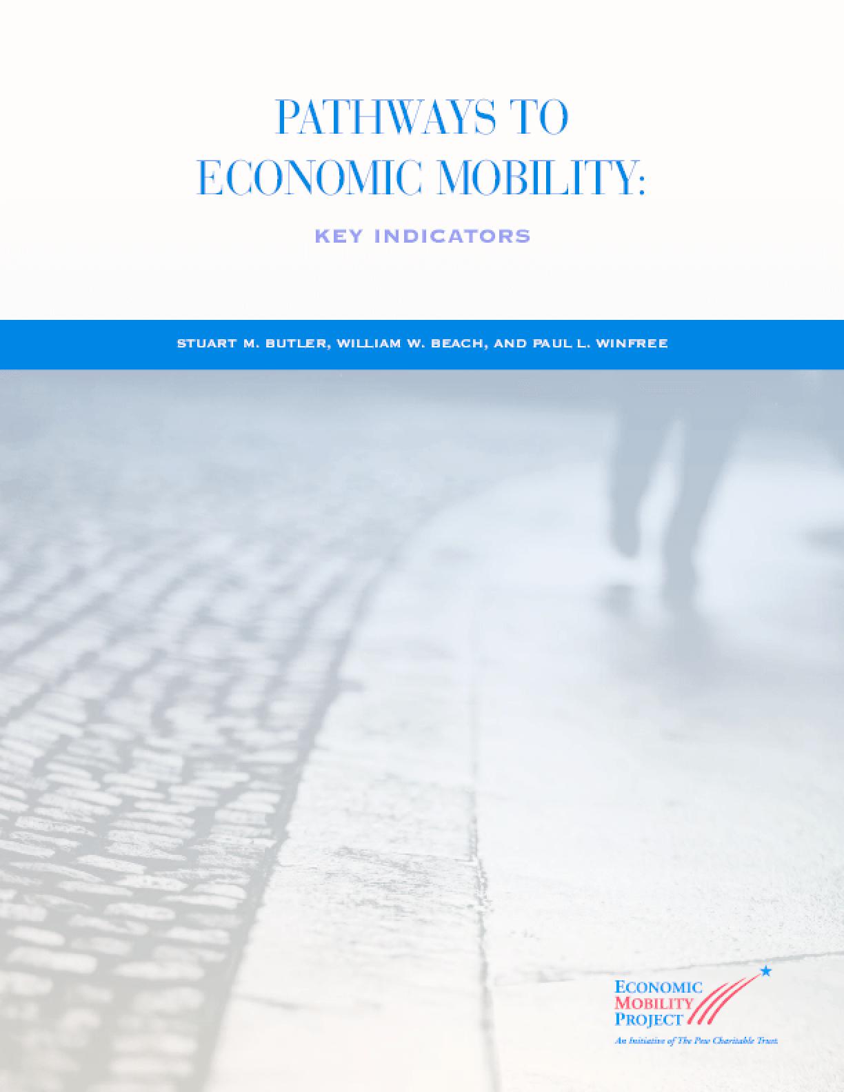 Pathways to Economic Mobility: Key Indicators