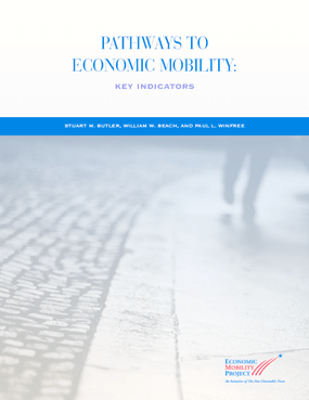 Pathways to Economic Mobility: Key Indicators
