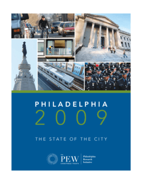 Philadelphia 2009: The State of the City