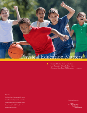 Physical Education Matters: Success Stories From California Low Resource Schools That Have Achieved Excellent PE Programs
