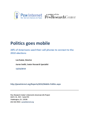 Politics Goes Mobile