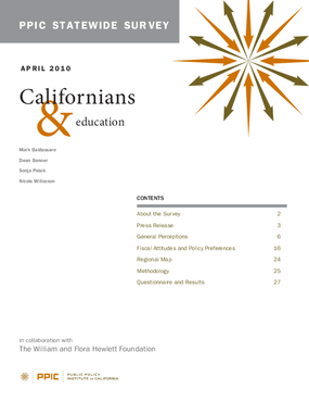 PPIC Statewide Survey: Californians and Education
