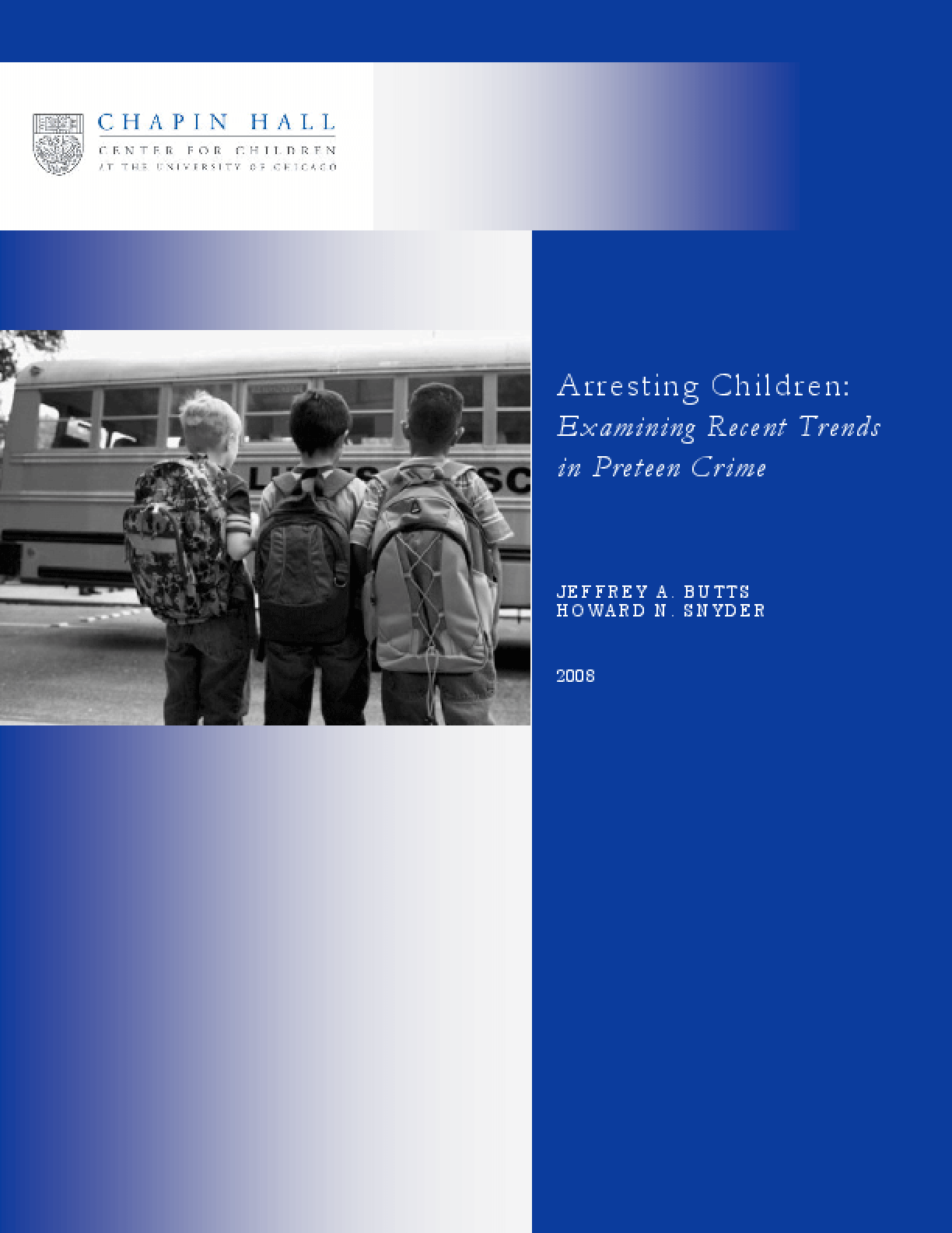 Arresting Children: Examining Recent Trends in Preteen Crime