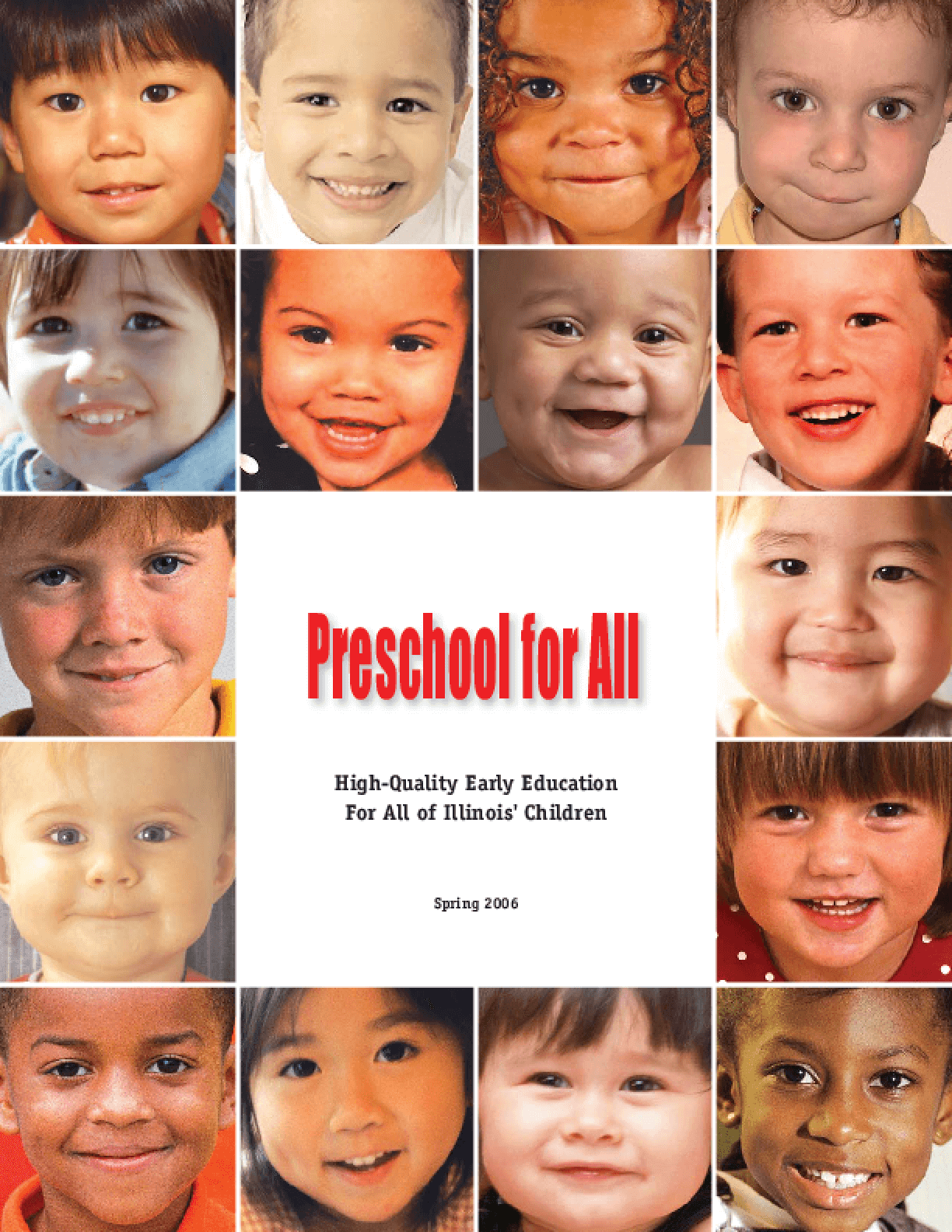 Preschool for All