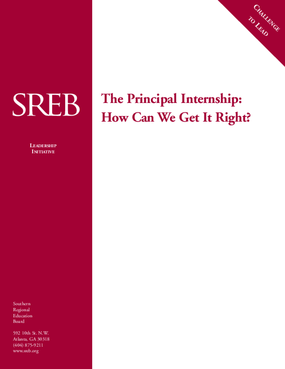The Principal Internship: How Can We Get It Right?