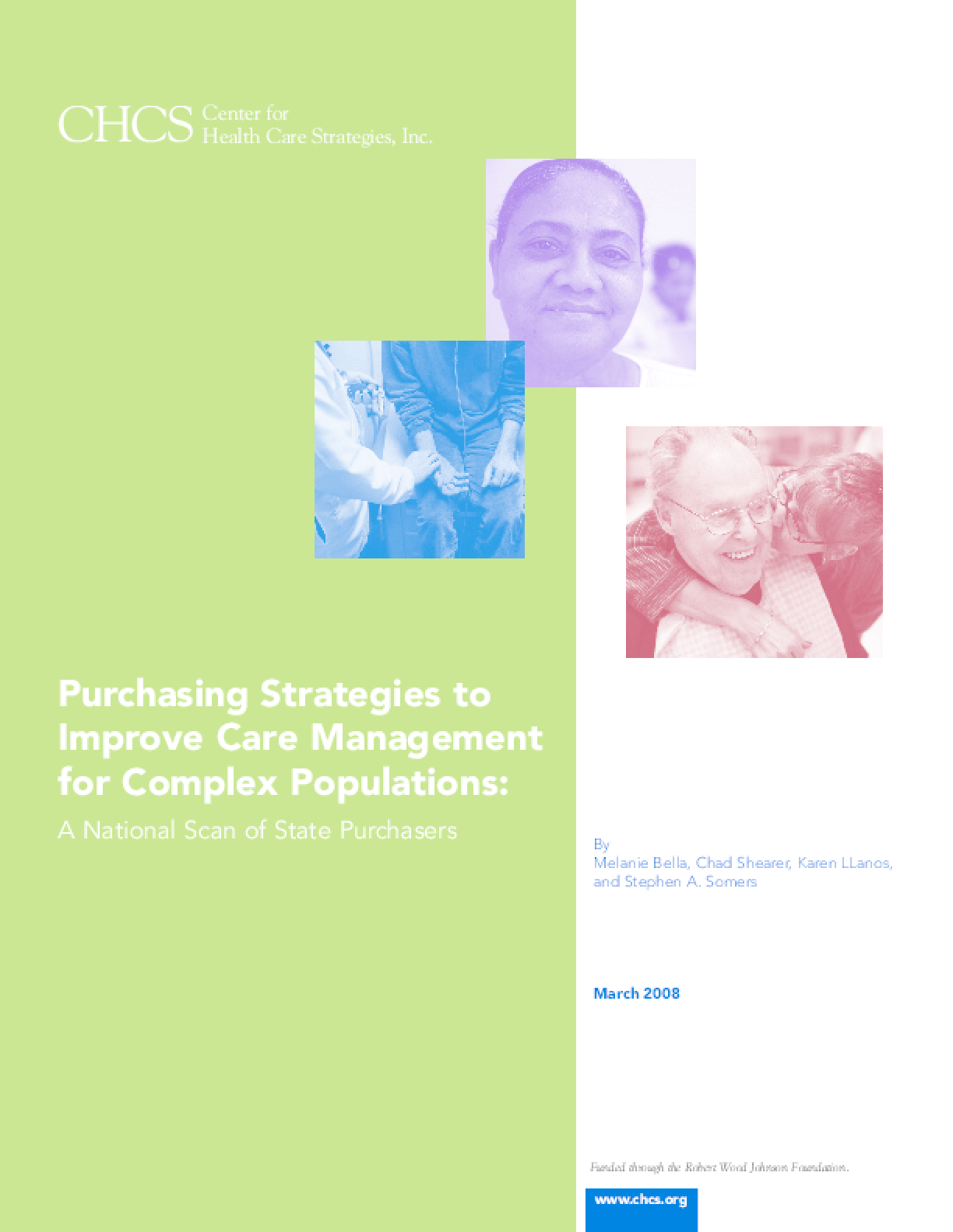 Purchasing Strategies to Improve Care Management for Complex Populations: A National Scan of State Purchasers