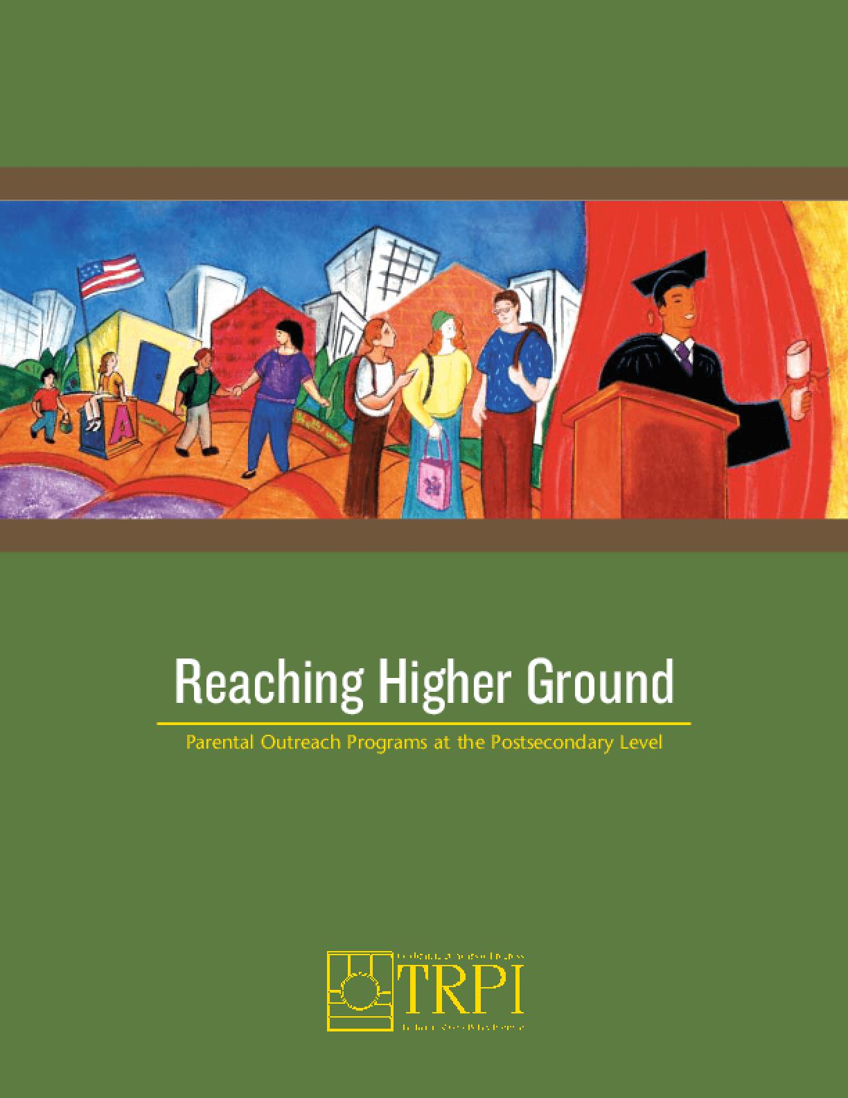 Reaching Higher Ground
