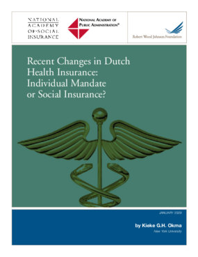 Recent Changes in Dutch Health Insurance: Individual Mandate or Social Insurance?