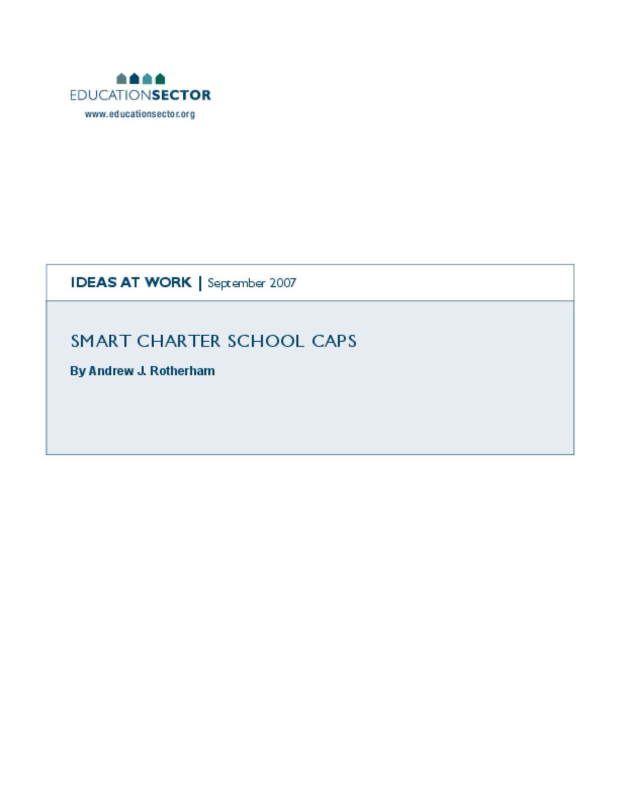 Smart Charter School Caps