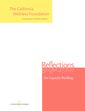 Reflections on Capacity Building