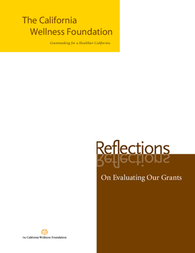 Reflections on Evaluating our Grants