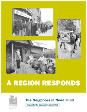 A Region Responds: The Neighbors in Need Fund Report to the Community