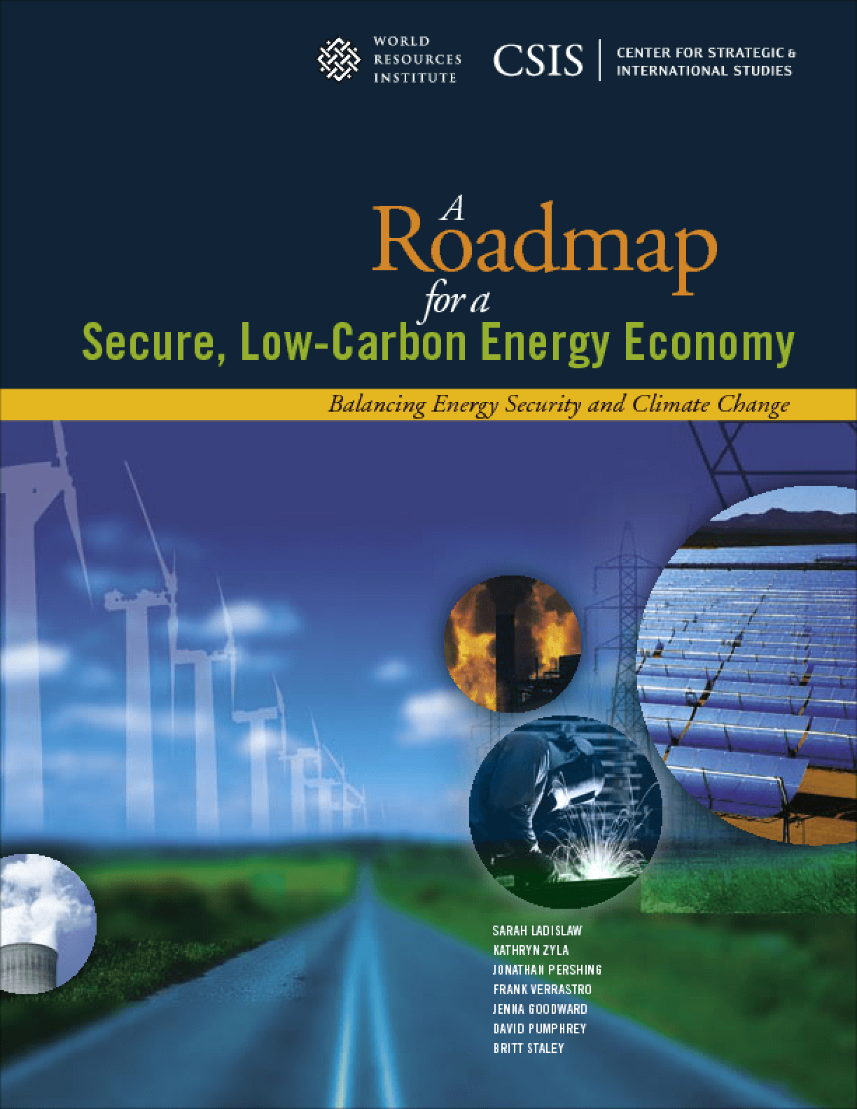 A Roadmap for a Secure, Low-Carbon Energy Economy