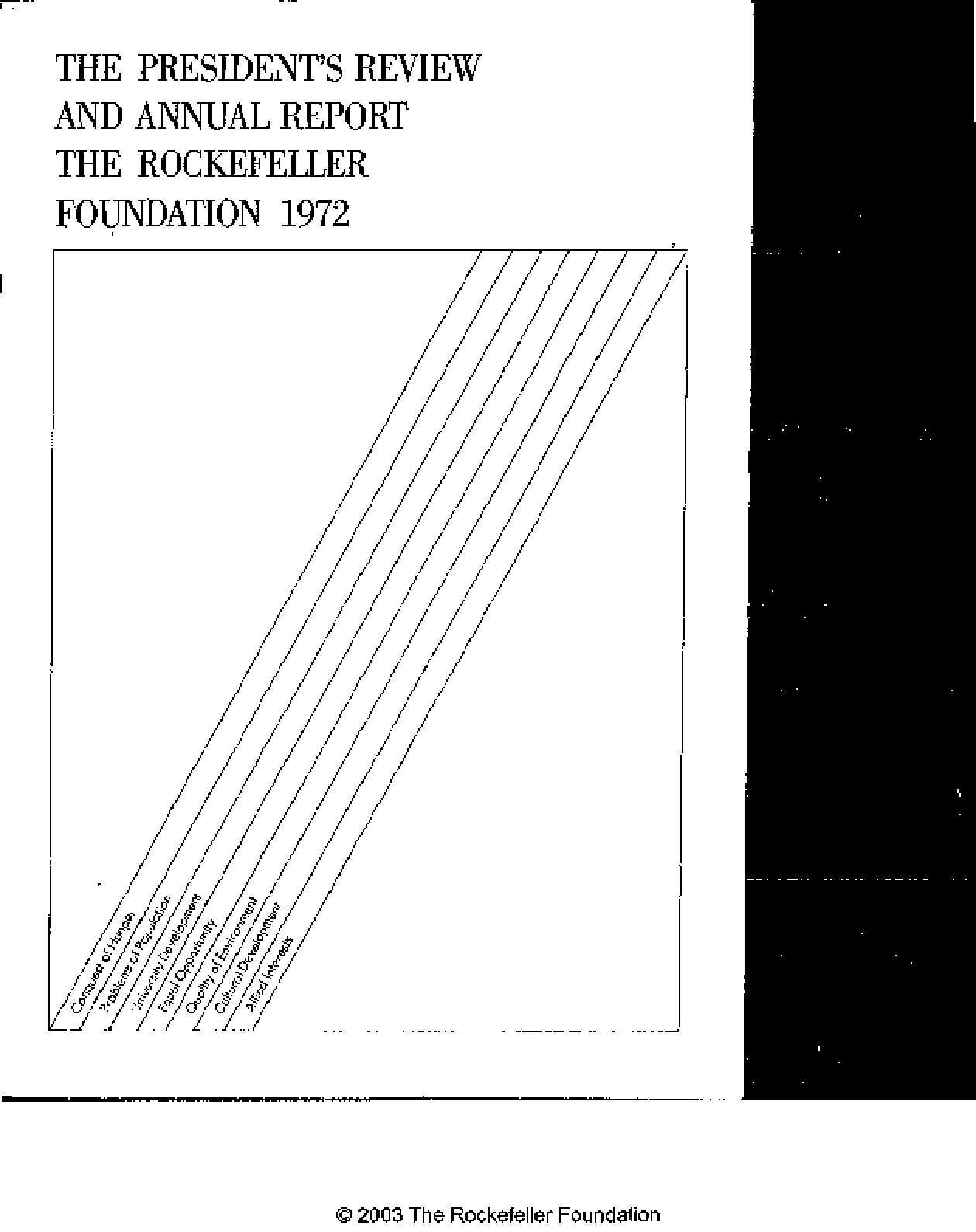 Rockefeller Foundation - 1972 Annual Report