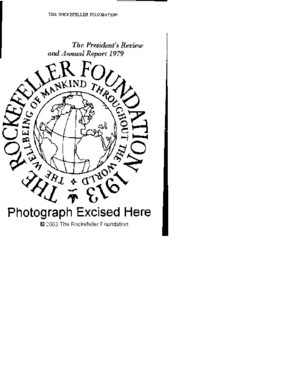 Rockefeller Foundation - 1979 Annual Report