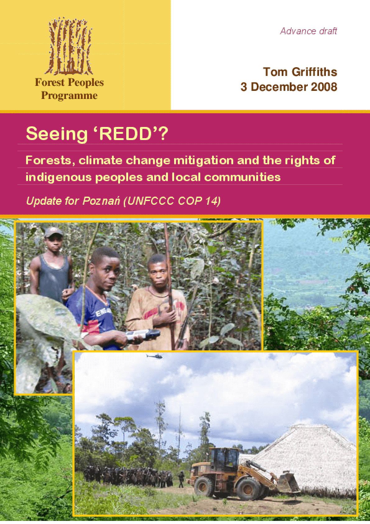 Seeing 'REDD'?: Forests, Climate Change Mitigation and the Rights of Indigenous Peoples