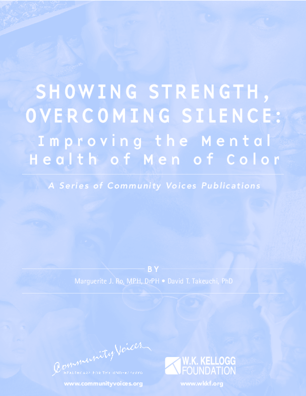 Showing Strength, Overcoming Silence: Improving the Mental Health of Men of Color