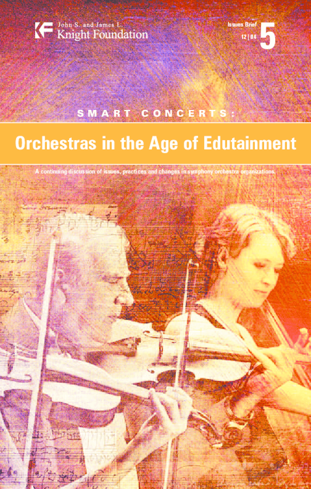 Smart Concerts: Orchestras in the Age of Edutainment