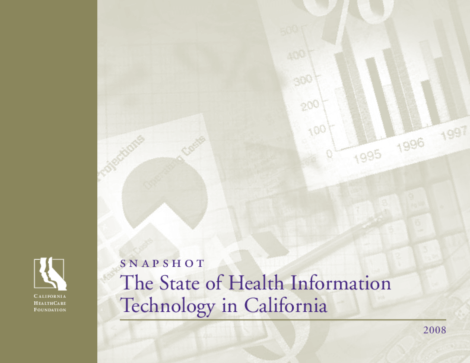 Snapshot: The State of Health Information Technology in California