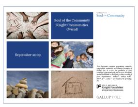 Soul of the Community 2009