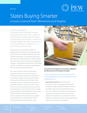 States Buying Smarter: Lessons Learned From Minnesota and Virginia