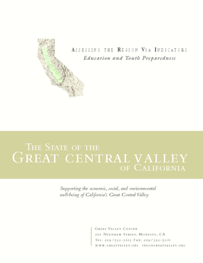 The State of the Great Central Valley -- Education and Youth Preparedness